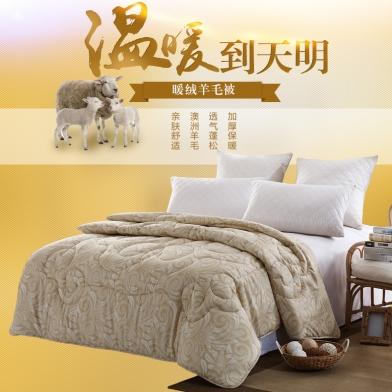 Chăn lông cừu cao cấp (CLC03)