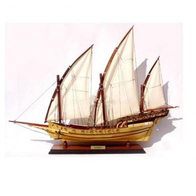 Mô hình tàu chiến cánh buồm