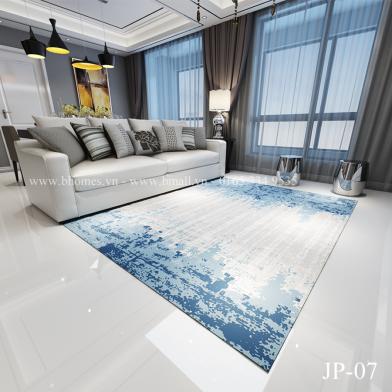 Thảm phòng khách phong cách châu âu