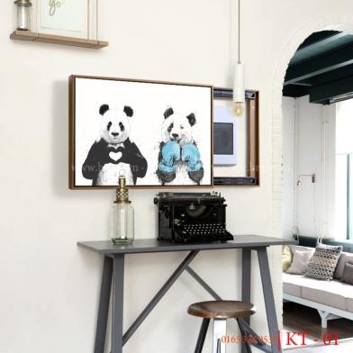Tranh trang trí hộp điện trong nhà