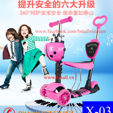 Xe Scooter cho bé loại 1
