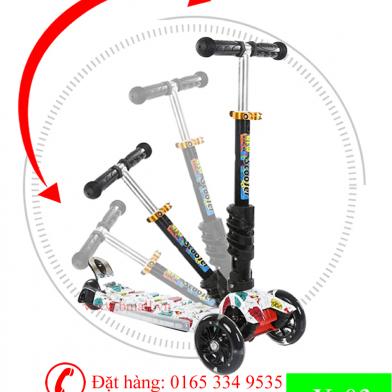 Xe Scooter thể thao có tay phanh mới nhất